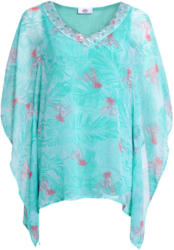 Damen Bluse im Poncho-Style
