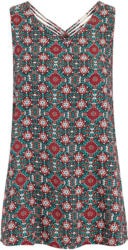 Damen Top mit Allover-Print