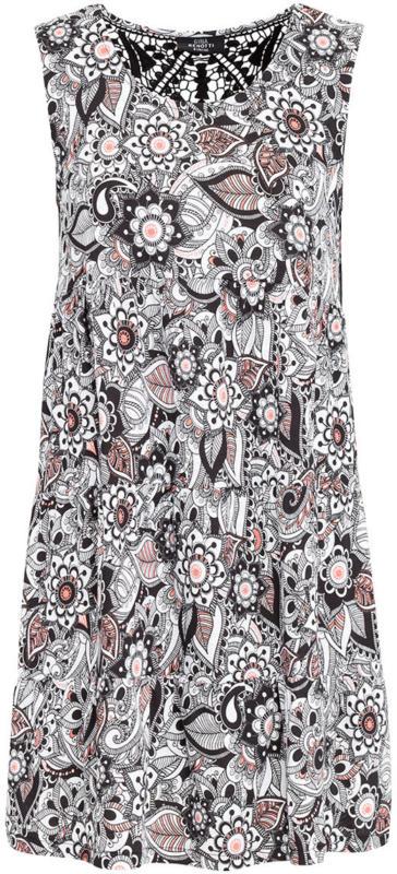 Damen Kleid mit Makramee-Spitze (Nur online)