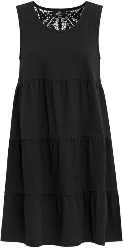 Damen Kleid mit Makramee-Spitze