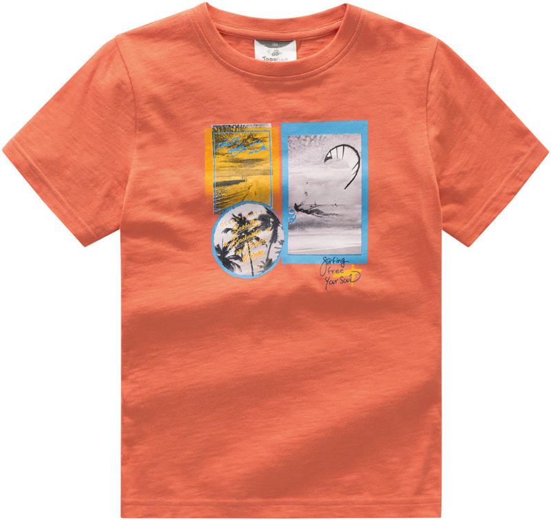 Jungen T-Shirt mit Foto-Print