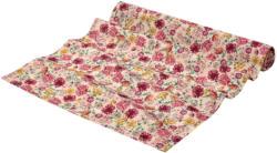 Outdoor Tischläufer mit Blumen-Print