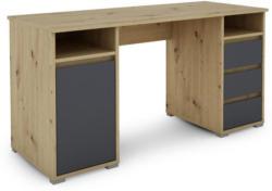 Schreibtisch in Holzwerkstoff 138/75/55 cm
