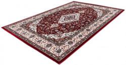 Trendiger Teppich ca. 160 x 230 cm rot