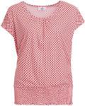 Ernsting's family Damen T-Shirt mit Fledermaus-Ärmeln