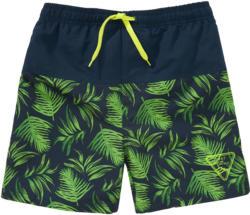 Jungen Badeshorts mit Palmen-Motiv