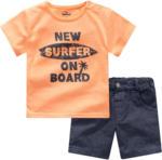Ernsting's family Baby T-Shirt und Shorts im Set