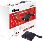 Saturn Videoadapter SenseVision USB Typ-C auf HDMI 2.0 + USB 2.0 + USB Typ-C Charging Dock(CSV-1534)