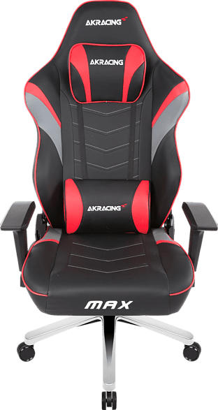 Gaming Sessel Master Max, Rot/Schwarz/Grau (AK-MAX-RD)