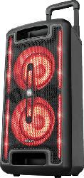 Partylautsprecher Klubb MX GO, tragbar, schwarz, RGB, 160W (23492)