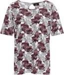 Ernsting's family Damen T-Shirt mit floralem Muster