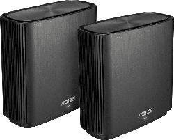 WLAN Router ZenWiFi AC CT8 AC3200, schwarz, 2er-Pack (90IG04T0-MO3R60)