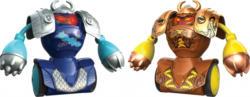 Roboter - Robo Kombat - Wikingerbattle-Set