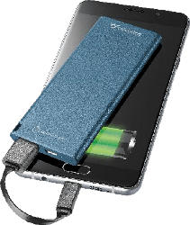 CELLULAR LINE Free Power slim Powerbank  Blau