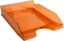 Briefkorb Ecotray, orange transparent