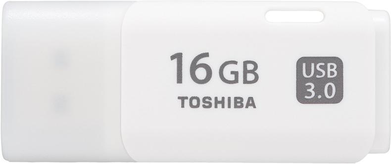 16GB Toshiba TransMemory U301 USB3.0 Stick, weiß