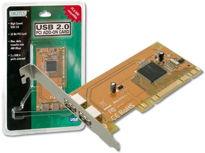 Digitus USB2.0 PCI Add-On Card