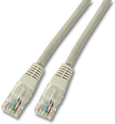 RJ45 Netzwerkkabel CAT5E LAN Kabel Ethernet Patchkanel, 15 Meter, Hellgrau