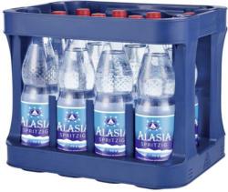 Alasia Mineralwasser versch. Sorten, 12 x 1 Liter, jeder Kasten