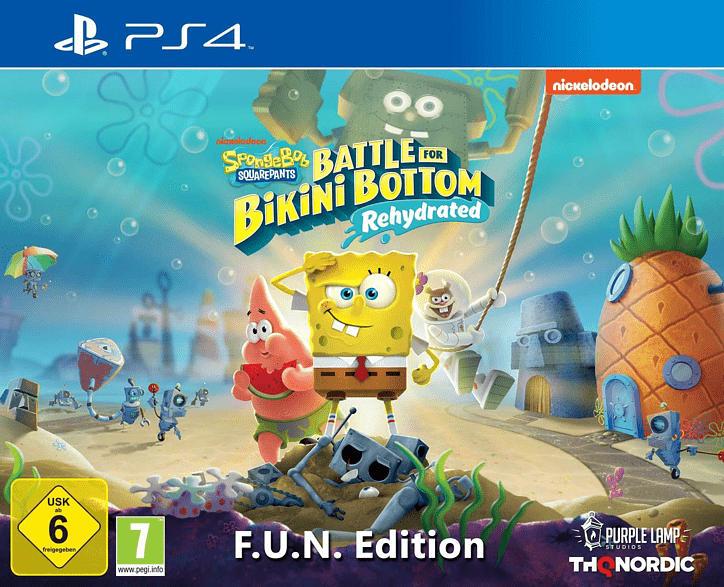 Spongebob SquarePants: Battle for Bikini Bottom - Rehydrated F.U.N. Edition [PlayStation 4]