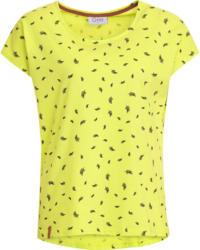 Damen T-Shirt mit Feder-Allover