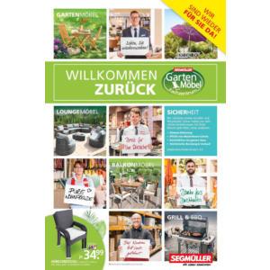 Segmüller - Willkommen zurück Prospekt Nürnberg