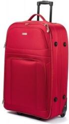 Softcase-Trolley Kreta 61 cm mit 2 Rollen rot
