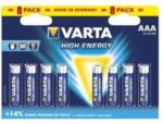 Pagro VARTA High Energy AAA Micro Batterie, 8 Stück