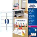 Pagro AVERY ZWECKFORM Premium Visitenkarten C32026-25 270 g 250 Stück satiniert weiß