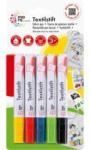 Pagro MARA Textilstifte 5 Stück mehrere Farben