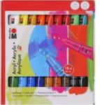 Pagro MARABU Acrylfarben Set 18 x 36 ml mehrere Farben