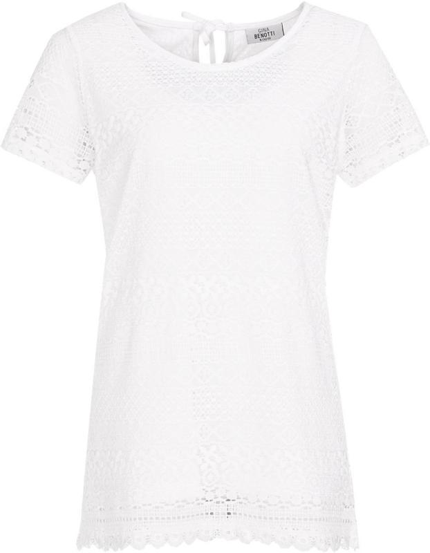 Damen T-Shirt aus Spitze (Nur online)