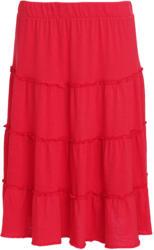 Damen Stufenrock aus leichtem Jersey (Nur online)