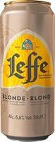 Bière blonde Leffe