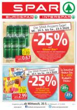 SPAR Flugblatt 20.05. bis 27.05. Wien, Niederösterreich & Burgenland