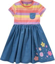 Mädchen Kleid mit Stickereien (Nur online)