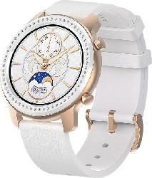 Smartwatch GTR 42mm Aluminium Glitter Edition, weiß