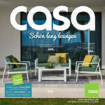 CASA Schön lang loungen - au 31.05.2020