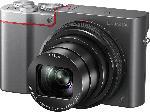 MediaMarkt PANASONIC Lumix DMC-TZ101 LEICA Digitalkamera Anthrazit/Silber, 20.1 Megapixel, 10x opt. Zoom, LCD-Display