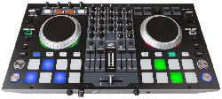 Professioneller 4-Kanal MIDI-Controller DJ Kontrol 4