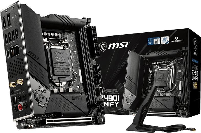 Mainboard MEG Z490I Unify (7C77-007R)