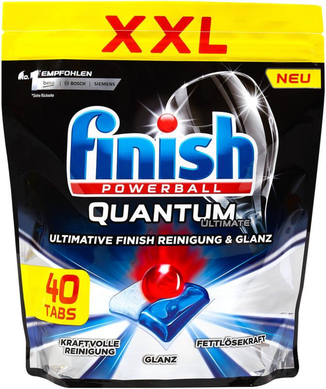 finish Powerball Quantum Geschirrspüler Tabs XXL Pack
