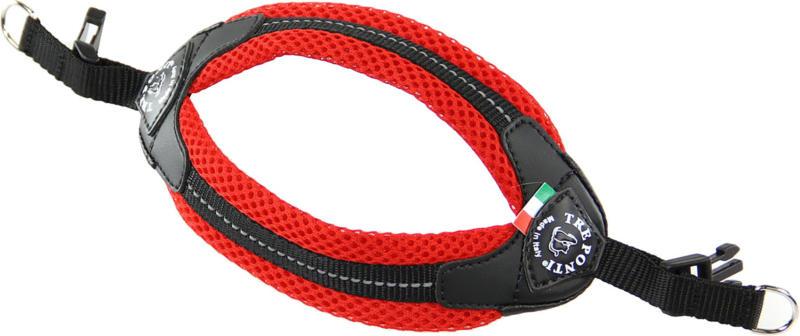 TrePonti Hundegeschirr Netzstoff rot Gr.3.5 bis 9kg