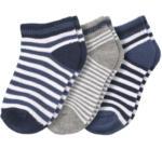 Ernsting's family 3 Paar Baby Sneaker-Socken mit Bio-Baumwolle (Nur online)