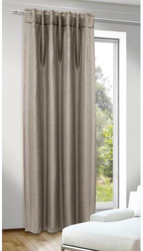 Kombivorhang Dimout Jolie leinen ca. 135 x 245 cm