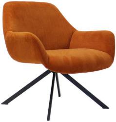 Sessel In Textil Kupferfarben