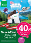 Leiner - Vöcklabruck Leiner - Neue Möbel braucht das Land! - bis 02.06.2020