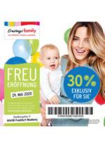 Nur HEUTE - 30% Neueröffnungsrabatt bei Ernsting's family