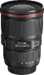 CANON EF  16 mm-35 mm f/4L IS, USM (Objektiv für Canon EF-Mount, Schwarz)