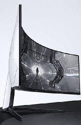 Gaming Monitor Odyssey G9, 49 Zoll, DQHD, 240Hz, Curved, Weiß (LC49G95TSSUXEN)